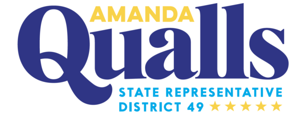Amanda Qualls for District 49